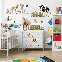 Adesivo murale per bambini - Animal Club