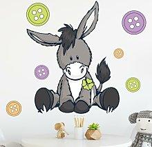 Adesivo murale per bambini - NICI Asinello &