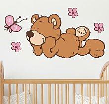 Adesivo murale per bambini - NICI Classico orsetto