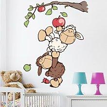 Adesivo murale per bambini - NICI Lenny e Jolly