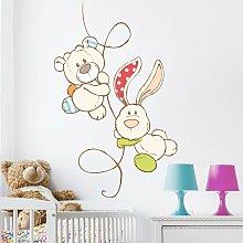 Adesivo murale per bambini - NICI My First NICI