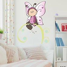 Adesivo murale per bambini - NICI Vivian su un