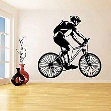 Adesivo murale per bicicletta Adesivo per bici per
