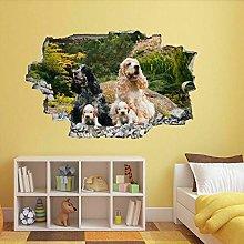 Adesivo Murale Per Cucciolo Di Cane Adesivo Murale