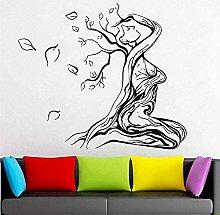 Adesivo murale per donna Albero della vita è