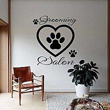 Adesivo Murale Per Toelettatura Animali Domestici
