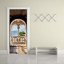 Adesivo Murale Portico All'Oceano Adesivi Per