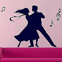 Adesivo murale PVC Dance Studio Poster Coppia