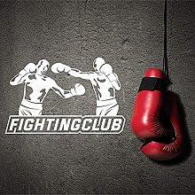 Adesivo Murale Pvc Rimovibile Adesivo Boxer
