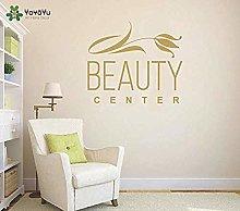 Adesivo Murale Ragazze Beauty Center Vinile Spa