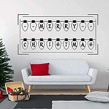 Adesivo Murale Rimovibile Adesivo Natalizio