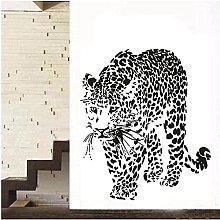 Adesivo murale rimovibile in vinile animale