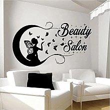 Adesivo Murale Sagoma Farfalla Salone Di Bellezza