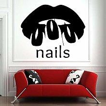 Adesivo murale salone adesivo in vinile salone di