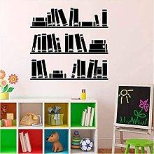 Adesivo Murale Scaffale Per Libri Adesivo Per