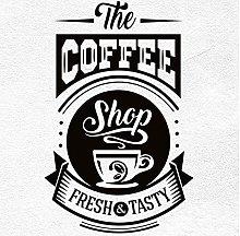 Adesivo Murale Segno Caffetteria Adesivo Caffè