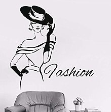 Adesivo Murale Sexy Lady Fashion Girl Design