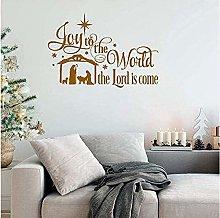 Adesivo Murale Sfondo Di Natale