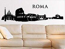 Adesivo murale Skyline di Roma Adesivo murale Casa