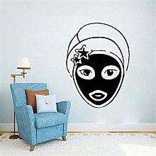 Adesivo Murale Spa Salon Art Spa Trattamenti Per