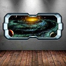Adesivo murale spazio a colori Adesivo murale