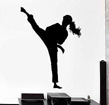 Adesivo Murale Sport Karate Arti Marziali