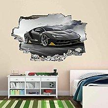 Adesivo Murale Super Car Sports Car Wall Art