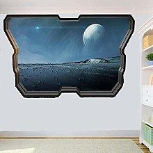 Adesivo Murale Superficie Del Pianeta Adesivo