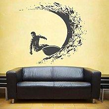 Adesivo murale surf Adesivo murale surfista