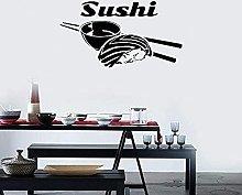 Adesivo murale sushi Cibo asiatico Adesivo murale