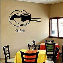 Adesivo Murale Sushi Cibo Ristorante Orientale