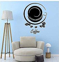 Adesivo Murale Tazza Di Caffè Adesivo Natalizio