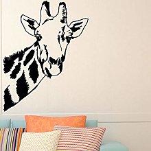 Adesivo Murale Testa Di Giraffa Decorazione