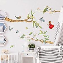 Adesivo murale - The Strawberry Fairy - With Tree
