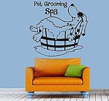 Adesivo murale Toelettatura animali domestici
