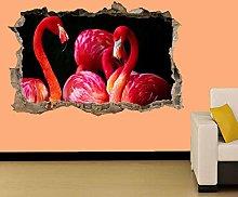 Adesivo Murale Uccelli Decalcomania Decorazione