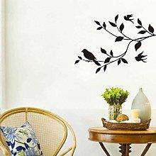 Adesivo Murale Uccello Sull'Albero Decorazione