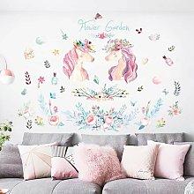 Adesivo murale Unicorn - Adesivo unicorno