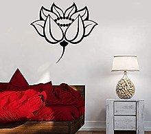 Adesivo murale Wall Art Lotus Room Design