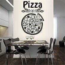 adesivo murale Wall Sticker Art Decor Design Pizza