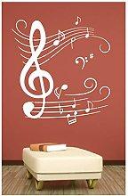 Adesivo murale Wall Sticker Chiave di violino -