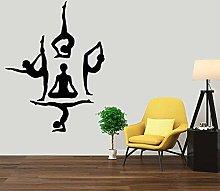 Adesivo Murale Yoga Adesivo Murale In Vinile Yoga