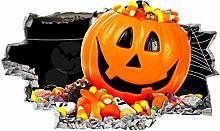 Adesivo murale Zucca Candy Bambini Halloween