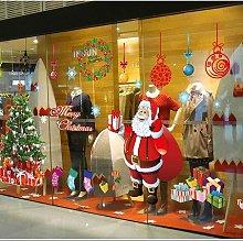 Adesivo natalizio Decalcomanie da muro per