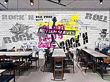Adesivo parete Carta da parati murale con pop rock