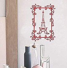 Adesivo per camera Torre decalcomania Torre Eiffel