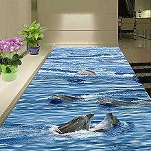 Adesivo Per Pavimenti 3D Personalizzato Nuoto