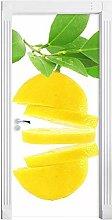 Adesivo Porta Autoadesivo Verde Limone 3D