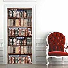 Adesivo Porta Libreria Libreria Autoadesiva