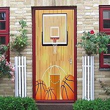 Adesivo Porta Scatola Da Basket Creativa